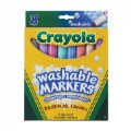 Alt Thumbnail #1 of Crayola® Tropical Colors Washable Markers 8-count - Set of 10
