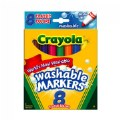 Alt Thumbnail #1 of Crayola® Classic Colors Washable Markers 8-count - Set of 10