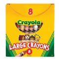 Alternate Thumbnail Image #1 of Crayola®Multicultural Crayons 8 Count - Large - Set of 10