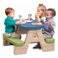 Alternate Thumbnail Image #1 of Sit 'N Play Picnic Table with Umbrella