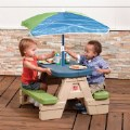 Alternate Thumbnail Image #3 of Sit 'N Play Picnic Table with Umbrella