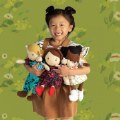 "Alternate Thumbnail Image #23 of Cuddly Playdate Friends Washable 14"" Soft Dolls"