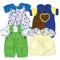 "Playwear Clothes For 10"" - 13"" Dolls"