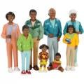Main Image of Family Play Set - African-American