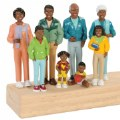 Alternate Image #1 of Family Play Set - African-American
