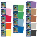 "Alternate Thumbnail Image #1 of Construction Paper Assorted Colors 50 Sheet Packs 12"" x 18"" - 700 Sheets Total"