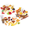 Main Image of Life-size Pretend Play Breakfast, Lunch and Dinner Meal Sets