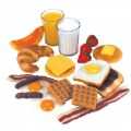 Thumbnail of Life-size Pretend Play Breakfast Meal Set with 22 Pieces