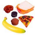 Alt Thumbnail #2 of Life-size Pretend Play Lunch Meal Set with 29 Pieces