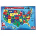 Alt Thumbnail #1 of World & US Floor Puzzles - Set of 2