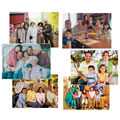 Multi-Cultural Family Puzzle Set - Set of 6