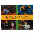 Main Image of Friends At Work and Play Paperback Book and Poster Set