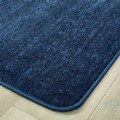 "Alt Thumbnail #2 of Mt. St. Helens Solid Carpet - 6"" x 9' Rectangle - Blueberry"