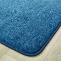 Alt Thumbnail #2 of Mt. St. Helens Solid Carpet - 6' x 9' Rectangle - Marine Blue