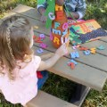 Alt Thumbnail #2 of Toddler Picnic Table