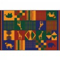 Main Image of Cultural 6' x 9' Carpet - Africa