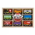 Alternate Thumbnail Image #3 of Wooden Magnetic Train Cars - Set of 8