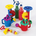 Spray, Sprinkle, Pump and Pour Water Set