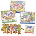 Five Little Monkeys Books And Finger Puppets