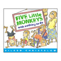 Alternate Thumbnail Image #2 of Five Little Monkeys Books And Finger Puppets