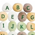 Alternate Image #2 of Uppercase Alphabet Pebbles