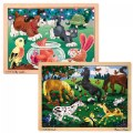 Thumbnail of Wooden Jigsaw Puzzle Set - Set of 4 Puzzles