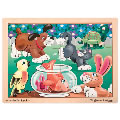 Alt Thumbnail #2 of Wooden Jigsaw Puzzle Set - Set of 4 Puzzles