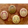 Alternate Thumbnail Image #3 of Tactile Emotion Stones For Children To Learn About Feelings - Set of 12