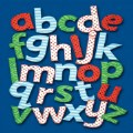 Alternate Thumbnail Image #1 of Feely Fabric Lowercase Letters