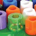 Alternate Image #1 of My First Bright Colored Chunky Peg Pieces And Pegboard Set