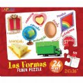 Alt Thumbnail #1 of Shapes (Las Formas) Spanish Floor Puzzle - 24 Pieces
