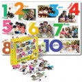 Numbers (Los Numeros) Spanish Floor Puzzle (24 Pieces)