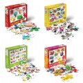 Thumbnail of Spanish & Bilingual 24-Piece Floor Puzzles - Set of 4