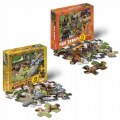 Main Image of Wild and North American Animals Floor Puzzles - Set of 2