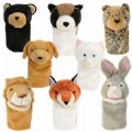 Main Image of Look Who's Talking Animal Puppets - Set of 8