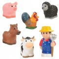 Main Image of Old MacDonald's Farm Finger Puppets - Set of 6
