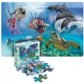 Main Image of Sea Life Floor Puzzle - 24 Pieces