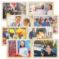 Photo Real People in Career Puzzles - Set of 8
