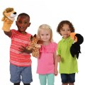 Alternate Image #1 of Safari Animal Puppets - Set of 6