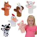 Main Image of Farm Animal Puppets - Set of 6