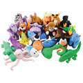 Main Image of ABC Animal Jamboree Puppet Set