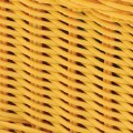 Alt Thumbnail #2 of Small Plastic Wicker Basket - Yellow - Each