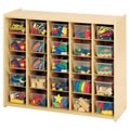 Nature Color 25 Tray Storage Unit