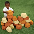 Alt Thumbnail #1 of Foam Rock Wall Builders - Set of 25