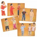 Main Image of Our Friends Puzzles - Set of 4