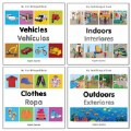 My First Bilingual Board Books - Set of 4