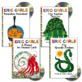 Eric Carle Book & CD - Set of 4