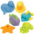 Alternate Thumbnail Image #2 of My Animal and Ocean Soft Squeezable Buddies - Set of 17