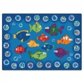 Fishing For Literacy Rectangle Carpet 6' x 9'