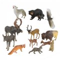 Main Image of North American Wildlife - Set of 13 Animals